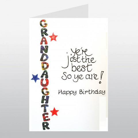 Birthday Card (Granddaughter)