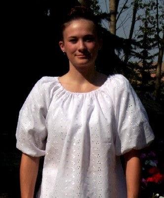 National Peasant Blouse - Adult