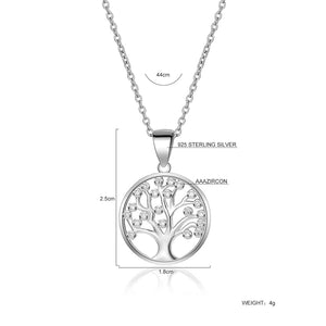 Silver Tree Of Life (Sparkle)