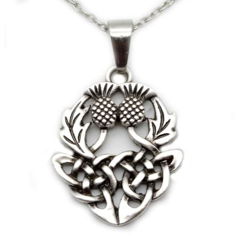 Thistle Knot Necklace