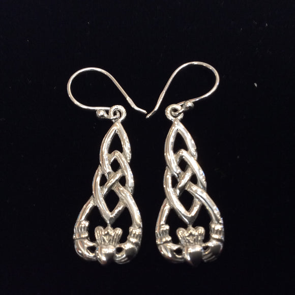 Silver Earrings EC8646