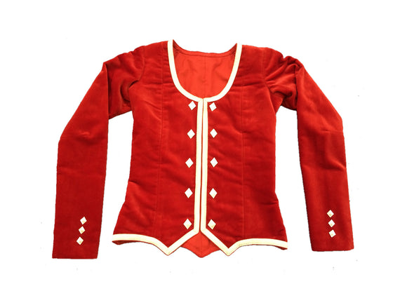 Highland Jacket - Silver Trim - Child