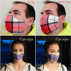 Triple Layer Face Mask -Shipped INTERNATIONALLY