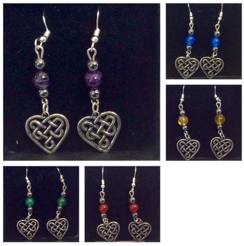 CWTCH Heart Earrings