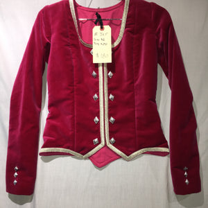 "Highland Jacket #5 - Fuchsia - 30"" Chest"