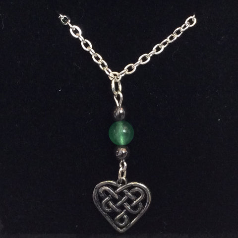 CWTCH Heart Pendant & Chain
