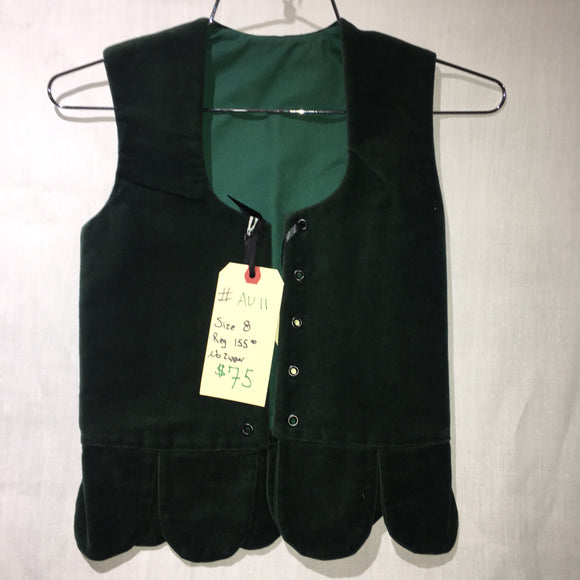 Aboyne Vest #11 - Forest Green - 27