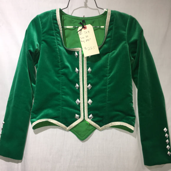 Highland Jacket #4 - Emerald Green - 36