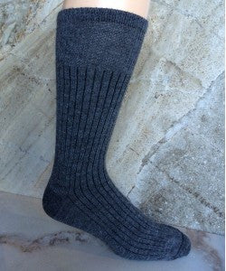 Casual Wear Alpaca Socks - Grey