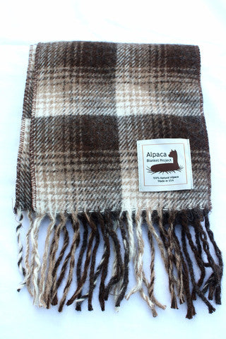 100% Alpaca Scarves, Made in the USA