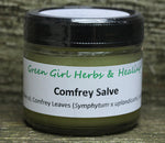 Comfrey Salve - All Natural Salve for the Healing of Sprains and Minor Cuts