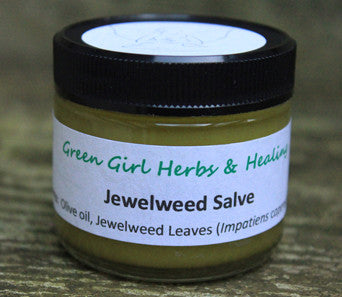Jewelweed Salve - All Natural Herbal Salve for Relief of Poison Ivy, Poison Oak, Poison Sumac