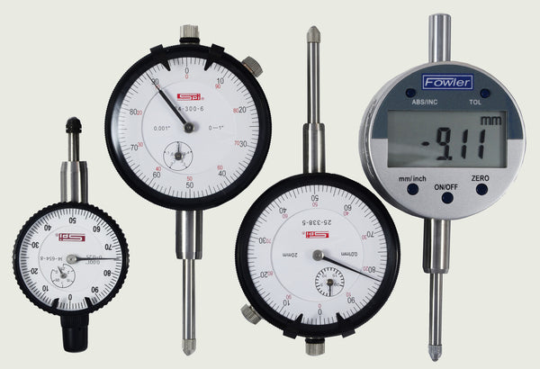 Federal Indicator Travel Products : Dial indicators travel gauges stomski racing lc