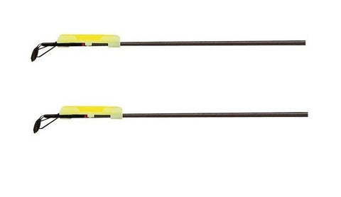 2 x Fishing Rod Tip Night Light Holders and Lights
