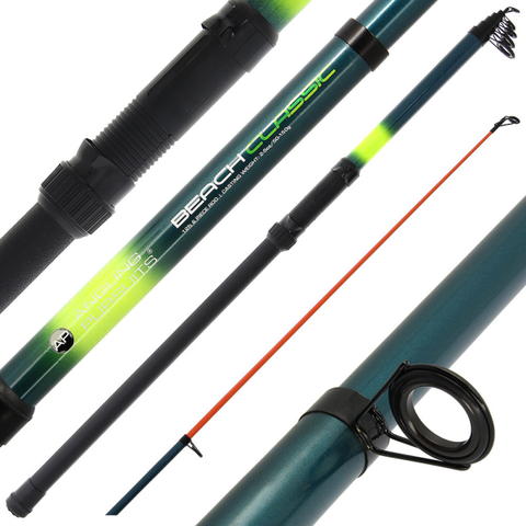 Telescopic  Beachcaster Fishing Rod  12ft Sea Beach Pier Travel Rod 2 - 5 oz