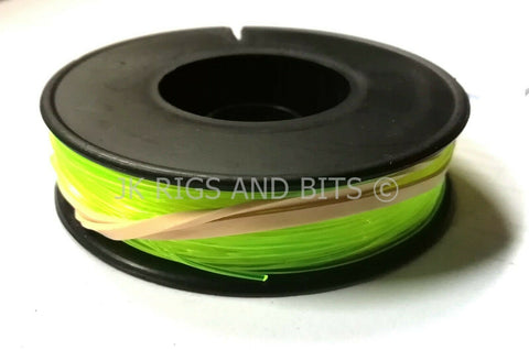 50lb Shockleader fishing line - Yellow Sea Fishing Line - 50m spool