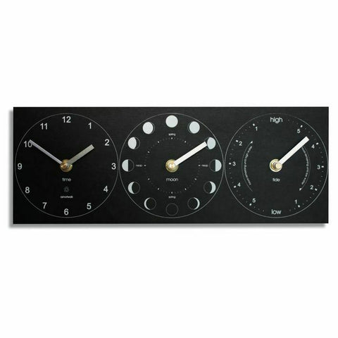 Eco Tide Moon Time Clock - Tidal Height Indicator - Wall Mounted