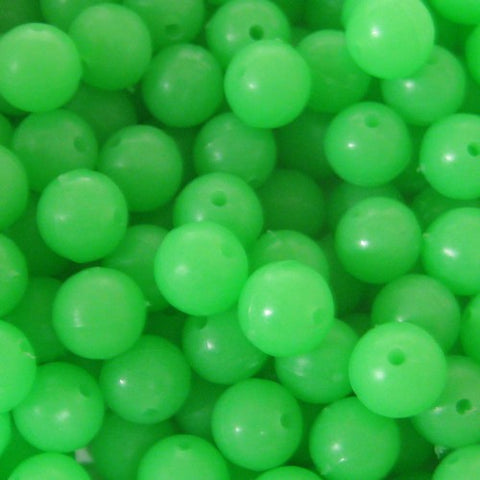 8mm Round Lumi Beads - Pack of 100