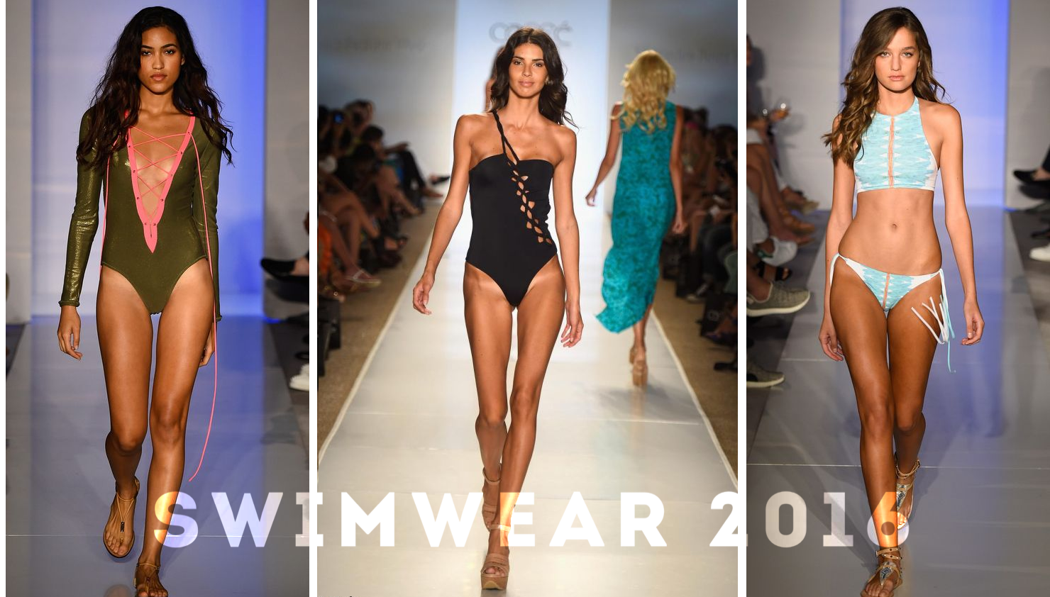 FASHION REPORT: SWIMWEAR 2016