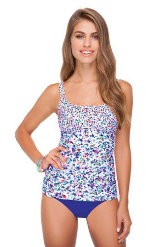 d0d12b5937 Profile by Gottex Beach Glass Classic Bra Tankini Top - forENVY ...