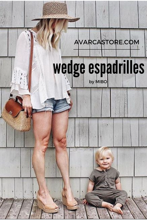 Perfect Wedges: MIBO Tan Wedges Espadrilles