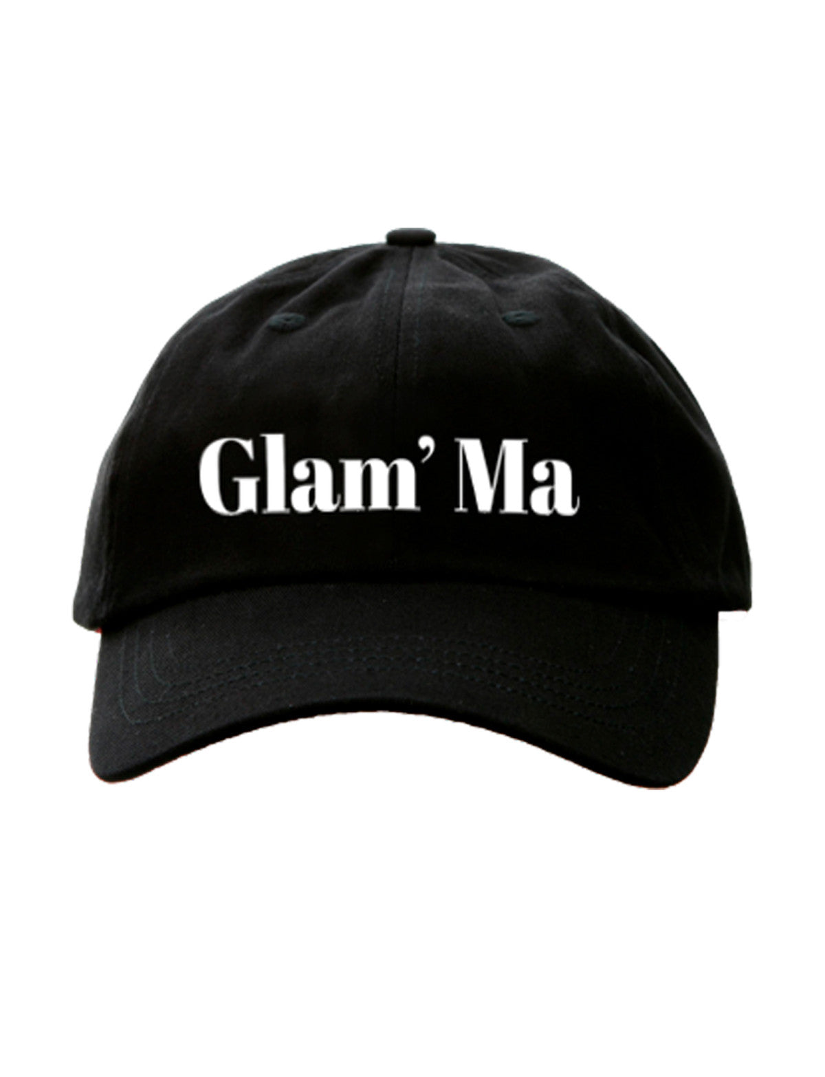 GLAM MA - cotton twill hat