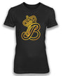 QUEEN B - women's short sleeve foil tee