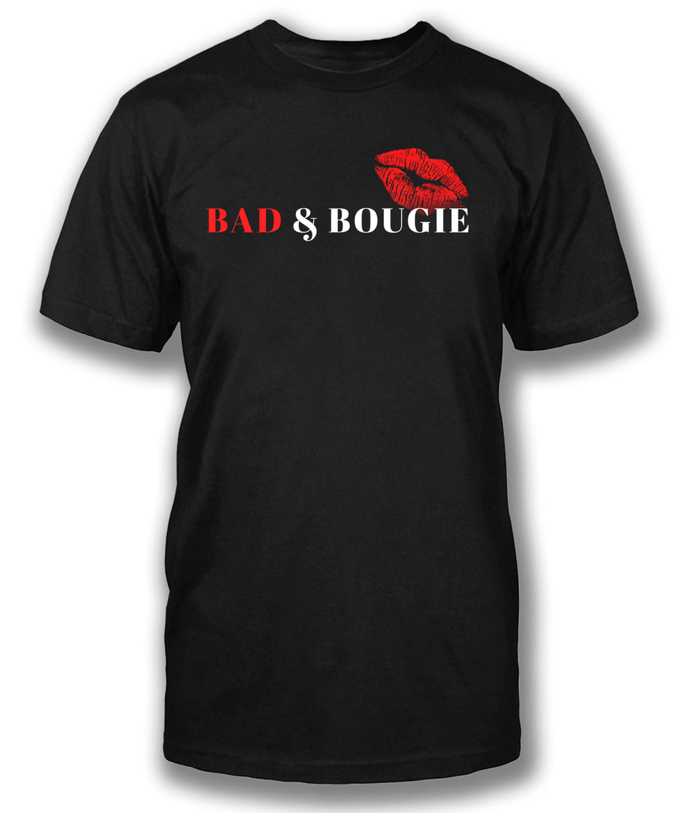 BAD & BOUGIE - Men's short sleeve tee
