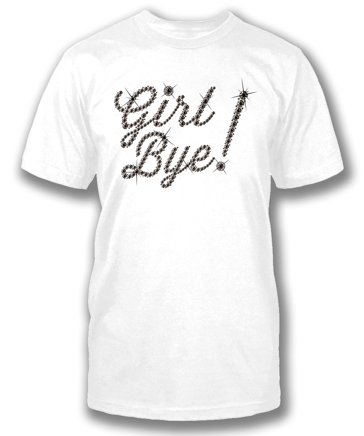 GIRL BYE (Diamond Print) - Men's short sleeve tee