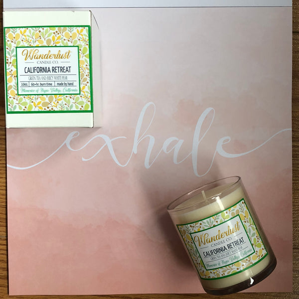 California Retreat Soy Candle