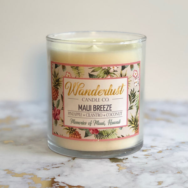 Maui Breeze Soy Candle