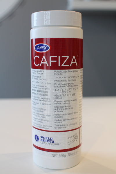 Cafiza Urnex cleaner