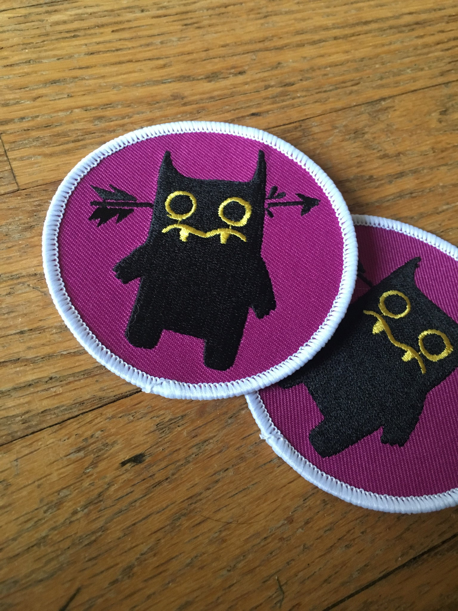 Dorkus Iron-on Patch
