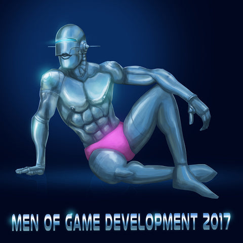 Men of Game Development 2017 Calendar (and Digital Pack)