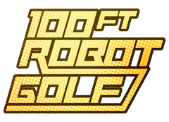 100ft Robot Golf Tee