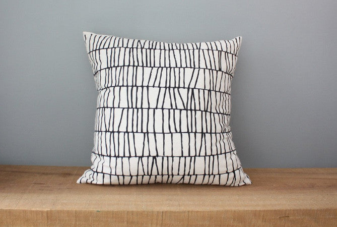 Thatch Organic Cotton Pillow 18x18