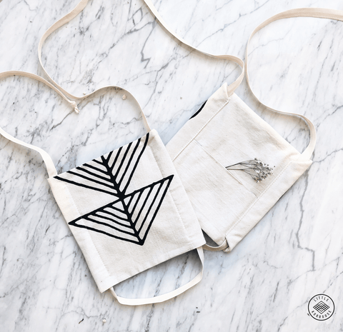 Drawstring | Organic Cotton Essential Face Mask