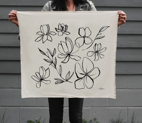 Wildflowers | Organic Cotton Tea Towel