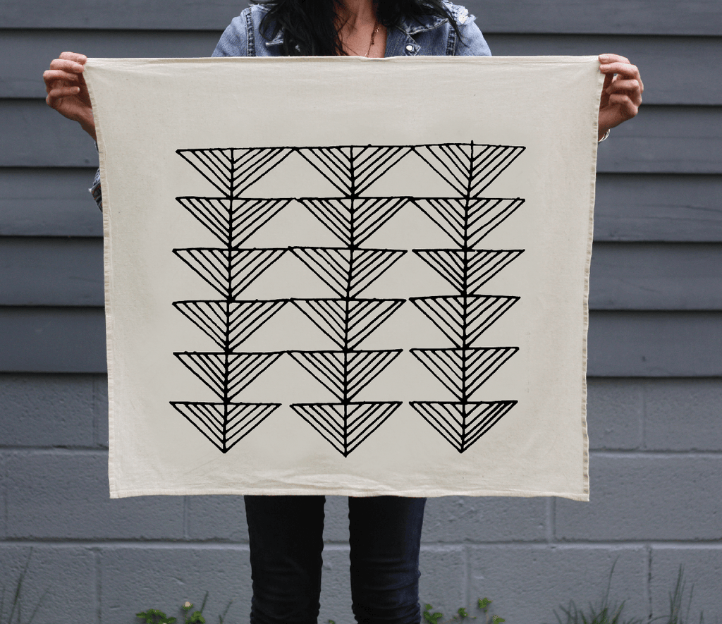 Arrows Organic Cotton Tea Towel