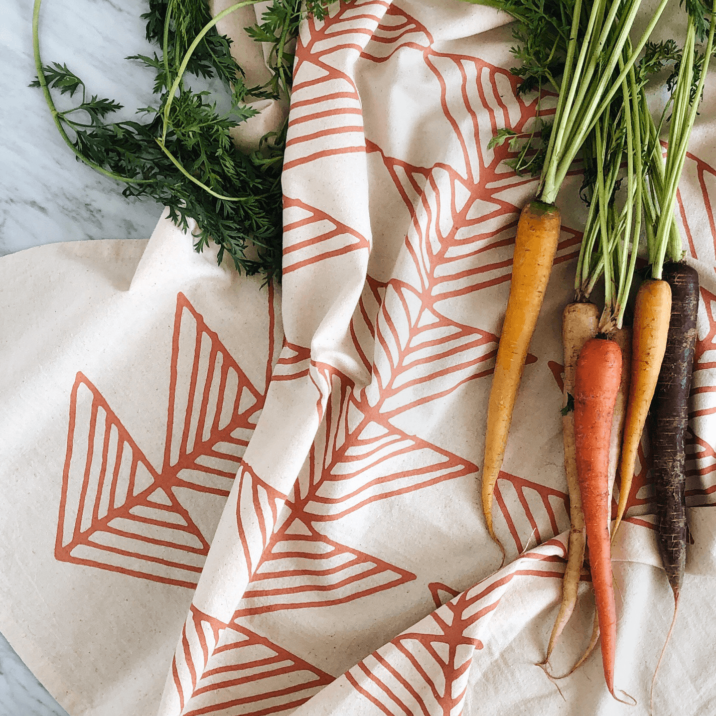 IN COLOR | Organic Cotton Tea Towel