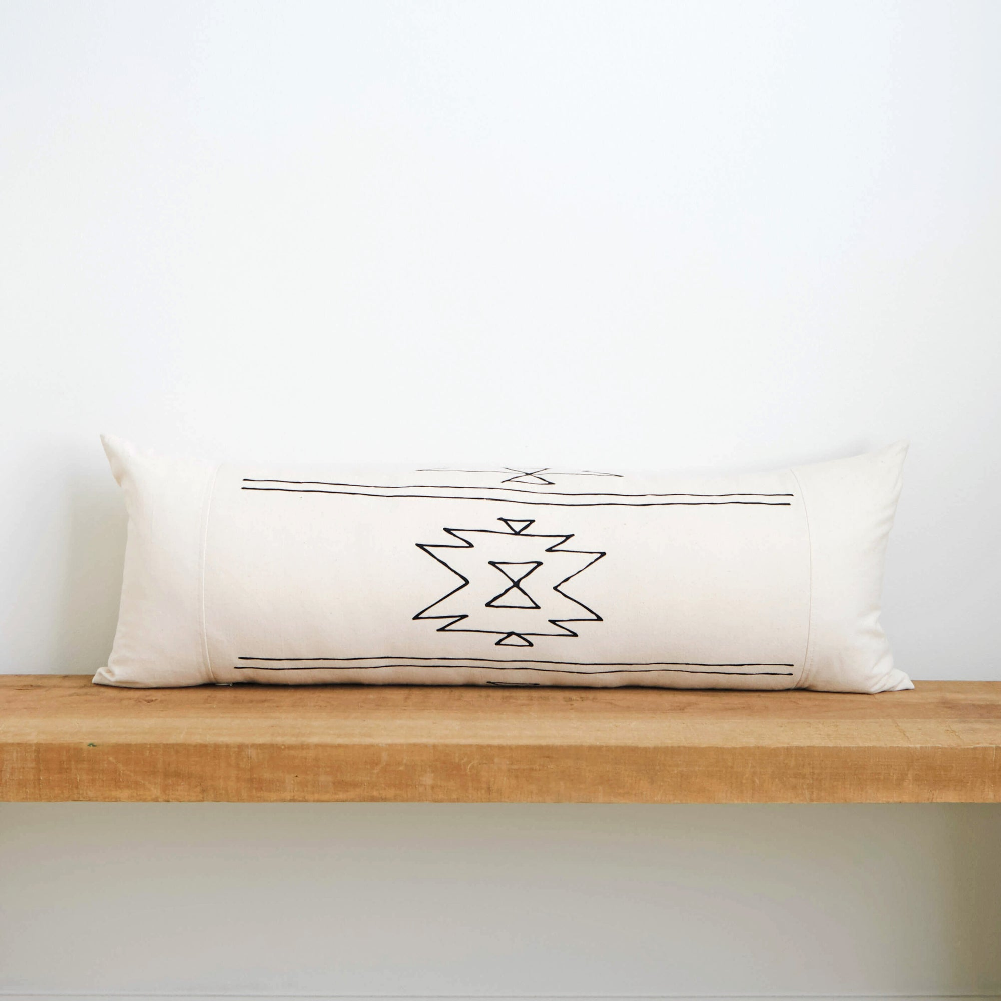 New Mexico | Organic Cotton Lumbar Pillow 13x35