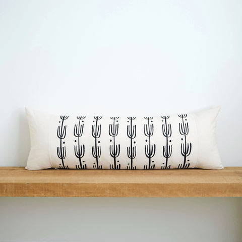Saguaro | Organic Cotton Lumbar Pillow 13x35