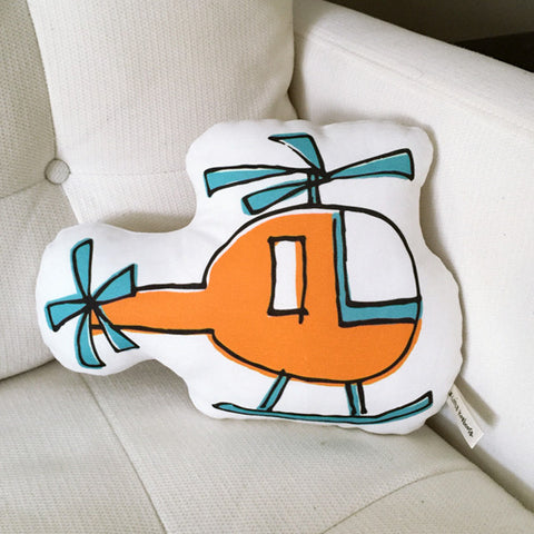 Helicopter Pillow - more colors
