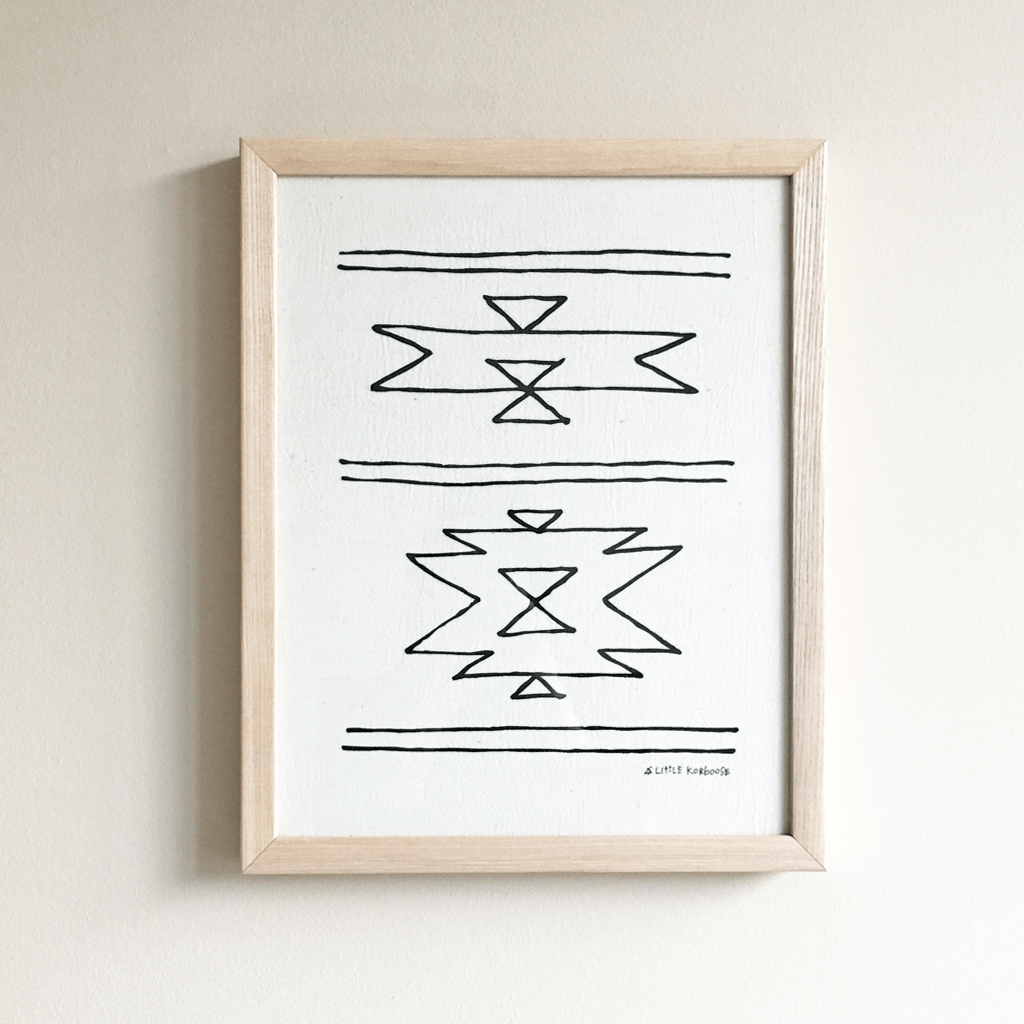 New Mexico | Framed Textile 11x14