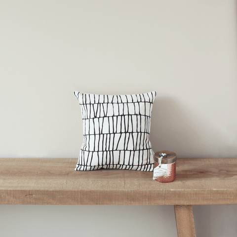 Thatch Organic Cotton Pillow 12x12