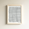 Plaid Framed Textile 9x12