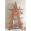 A-Frame Wood Shelf