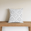 Weave Organic Cotton Pillow 18x18