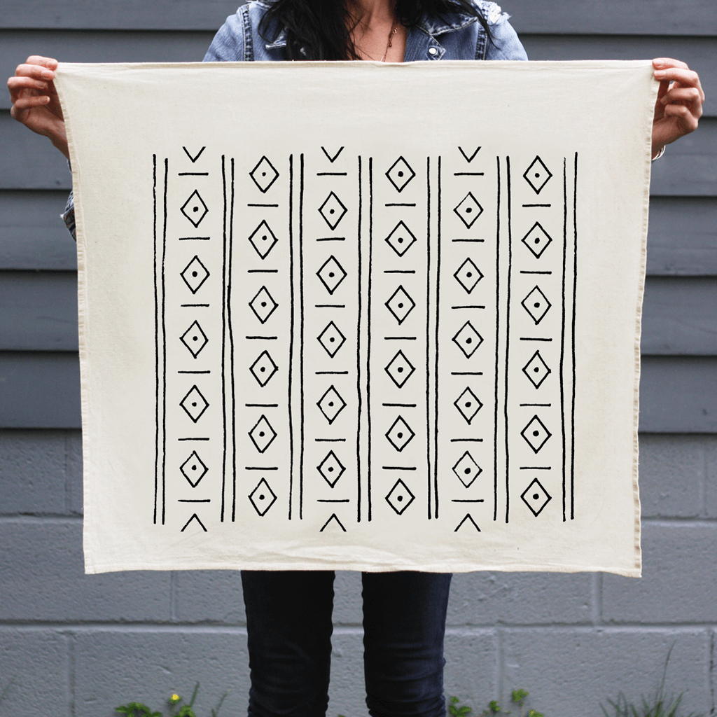 Diamonds | Organic Cotton Tea Towel