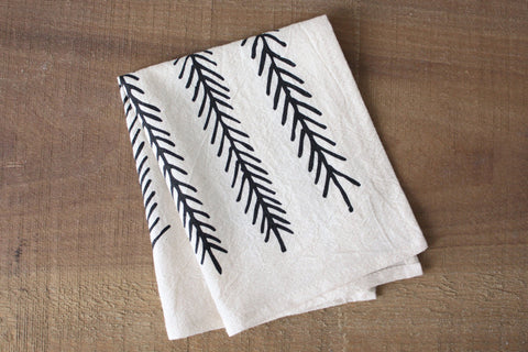 Feather Organic Cotton Cocktail Napkins (set of 2)